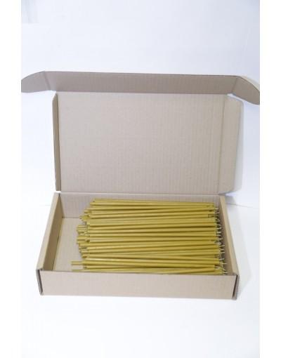 Свечи восковые станочные № 20 в коробке (2 кг)