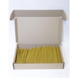 Свечи восковые станочные № 100 в коробке (500 шт- 2 кг)