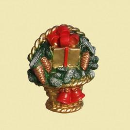 """Свеча """"Рождественский подарок"""""""