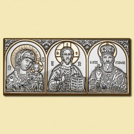 Автоикона триптих 101х 46, арт