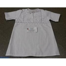 Крестильная рубашка для мальчика (р-р 30- 32, 3- 4 года),   рост: 98- 104 (хлопок)