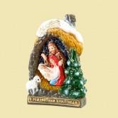 Свеча «Рождественский вертеп»